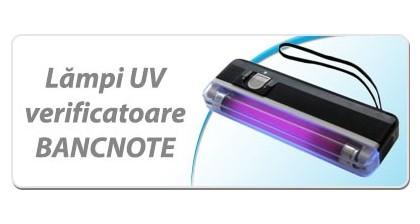 Lampi UV verificatoare bancnote