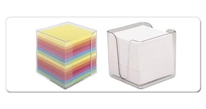 Post it-uri adezive si Cuburi de hartie pentru birou