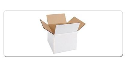 Cutii carton alb